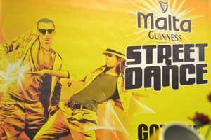 Malta Guinness Street Dance: Plateforme d'expression rêvée pour les jeunes de 18 à 24 ans