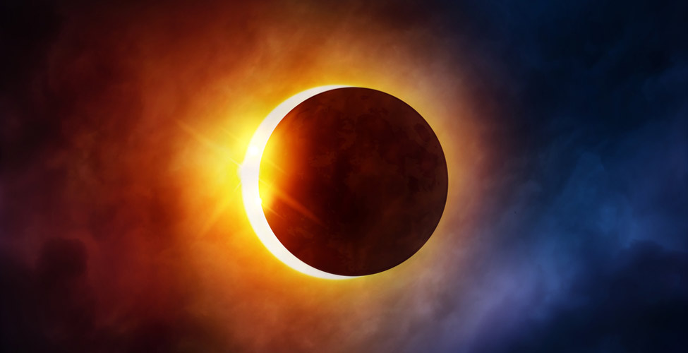 A Solar Eclipse will be visible in Mauritius on Thursday 1st September :  Watch it live