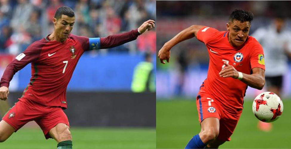 Coupe des Confédérations : suivez la première demi-finale (Portugal v/s Chili) en direct sur my.t ce mercredi 28 juin à 22 h