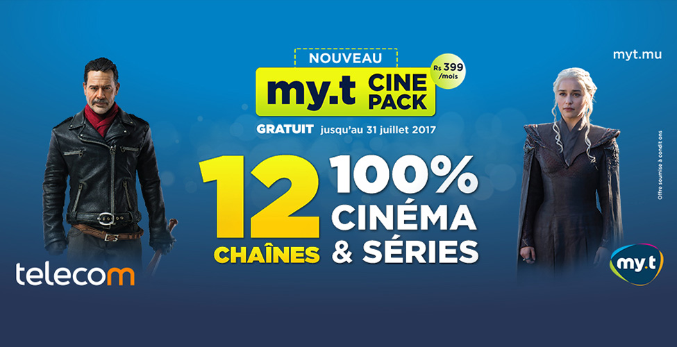 my.t Cine Pack : le meilleur du cinéma et des séries