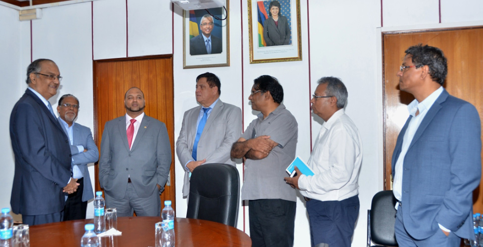 Economic and trade cooperation: bilateral meeting between Mauritius and Seychelles