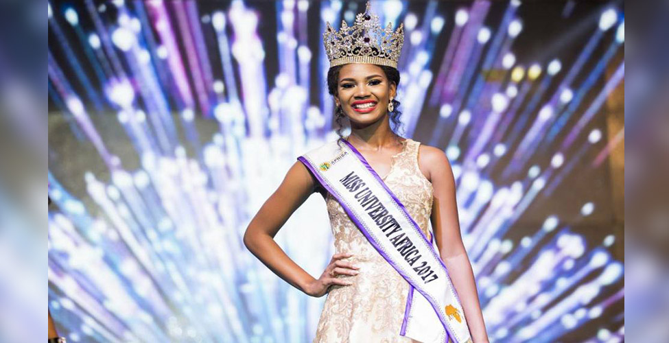 Miss University Africa 2017 : la Mauricienne Lorriane Nadal couronnée