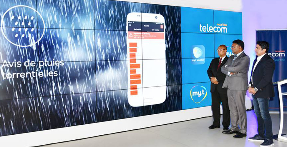 Mauritius Telecom lance l'application 'my.t weather'