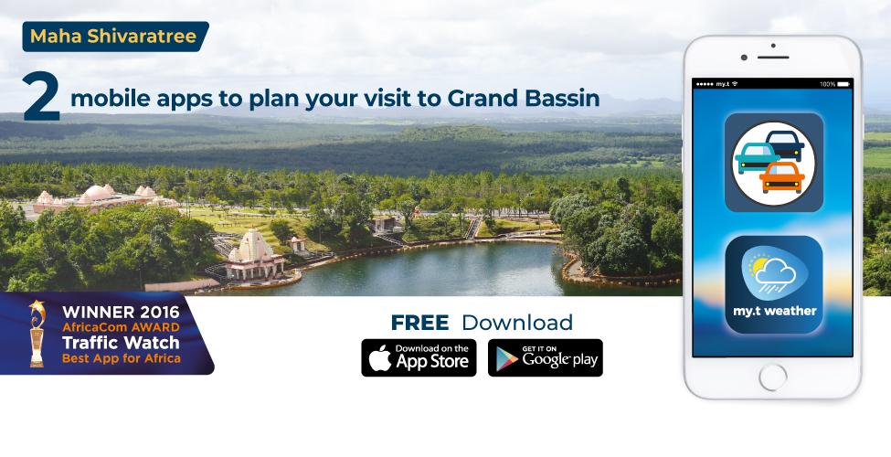 Traffic Watch et my.t weather : pour mieux planifier votre visite à Grand Bassin