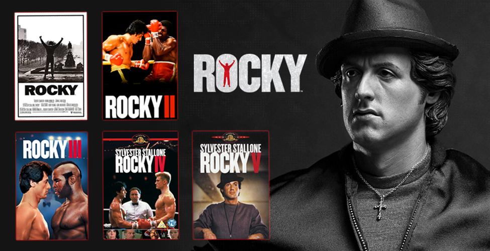 Rocky – L'intégrale de la saga en VoD sur my.t