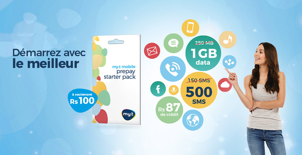 Le Starter Pack de my.t mobile en promo jusqu'au 15 avril