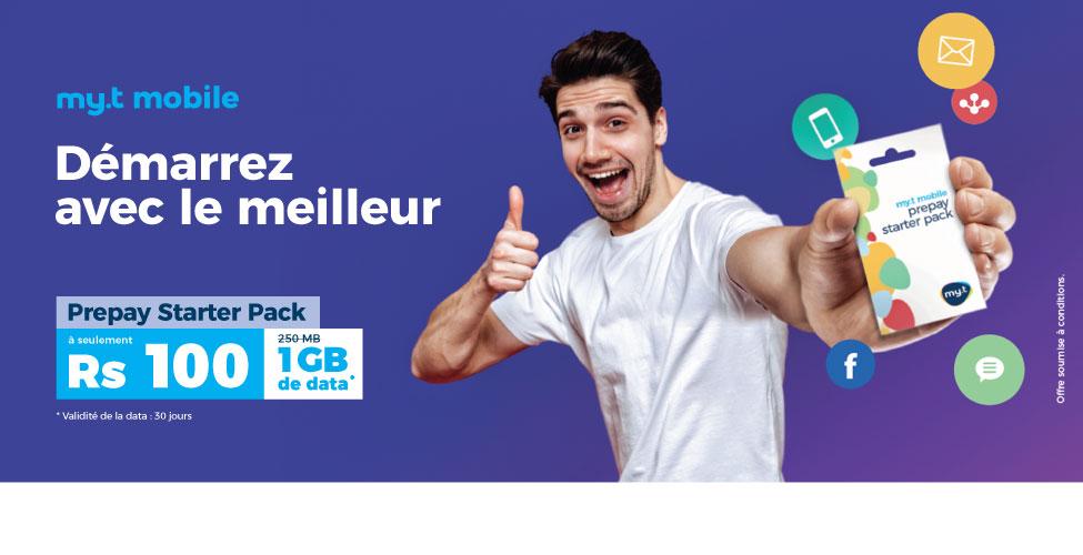 Le Starter Pack de my.t mobile en promo jusqu'au 13 mai