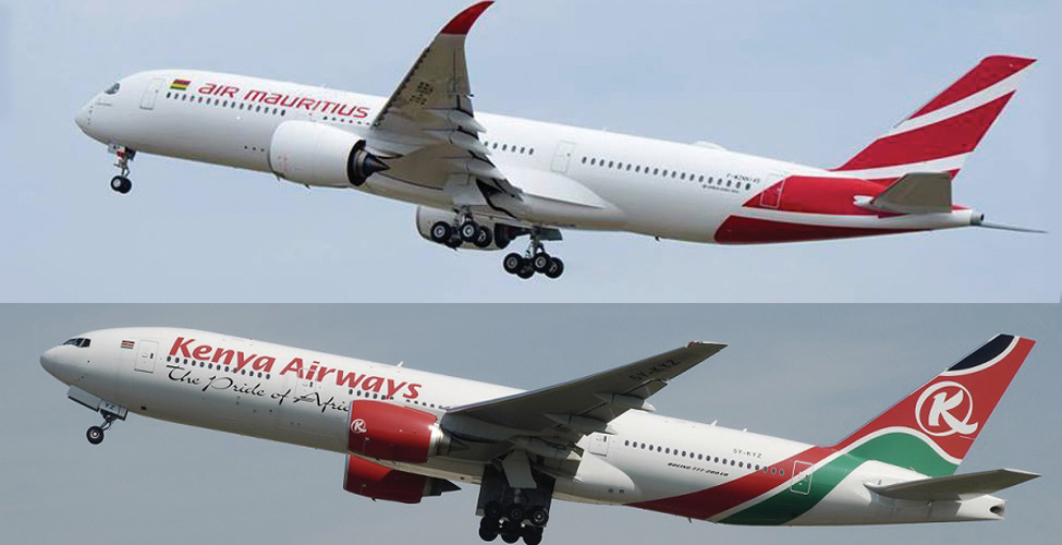 Kenya Airways starts operations to Mauritius and expands its cooperation with Air Mauritius