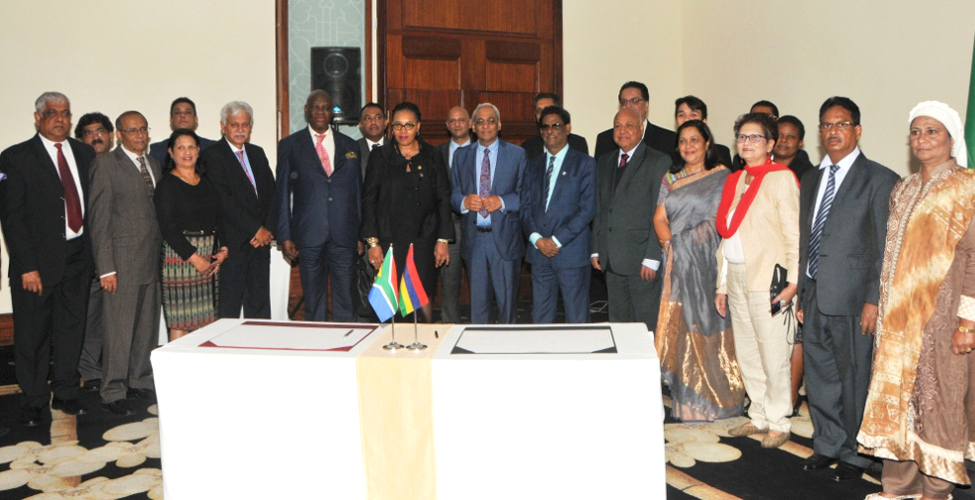 Les nouvelles relations Maurice - Afrique du Sud ancrées dans un esprit de coopération Sud-Sud