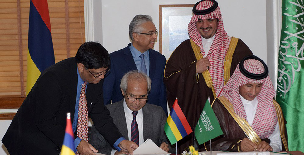Nouvel hôpital de Flacq : l'Arabie Saoudite fait un don de Rs 870 millions