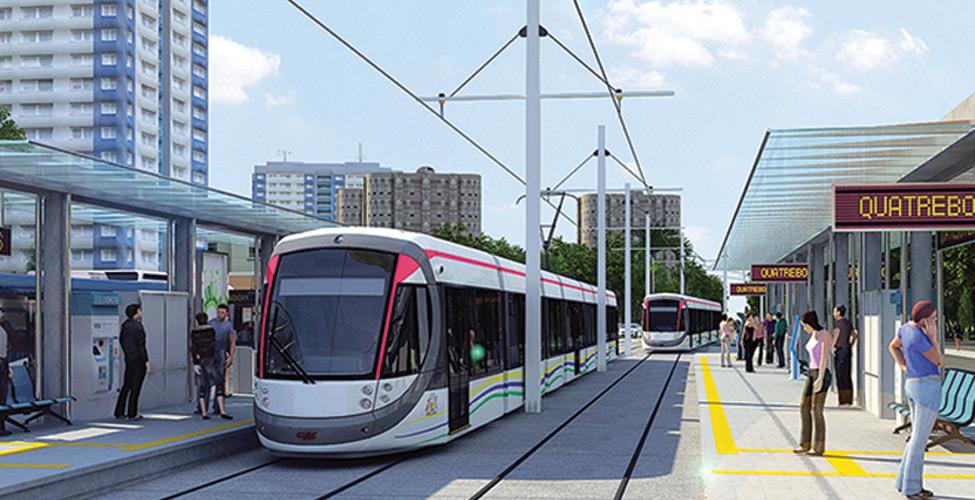 Le Metro Express roulera à 80 km/h en dehors des villes