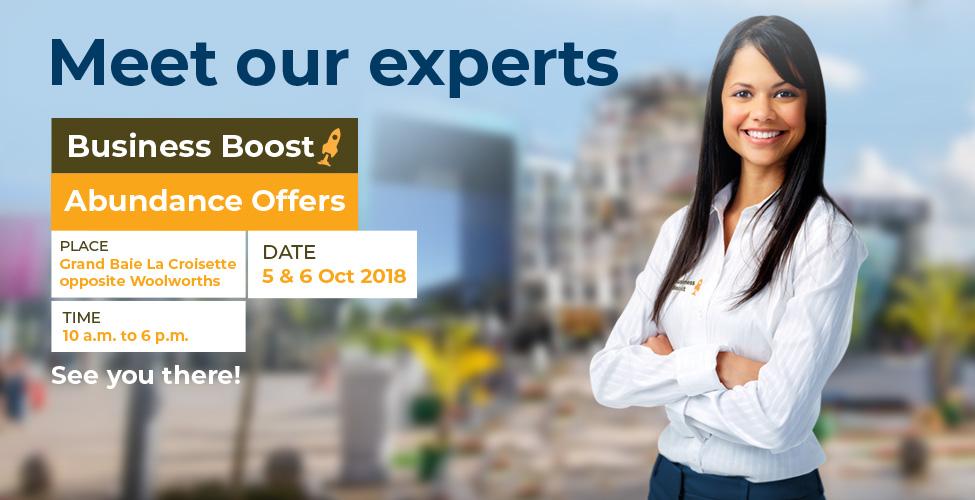 Votre business a besoin d'un p'tit boost? Rendez-vous vendredi 5 et samedi 6 octobre à Grand Baie La Croisette