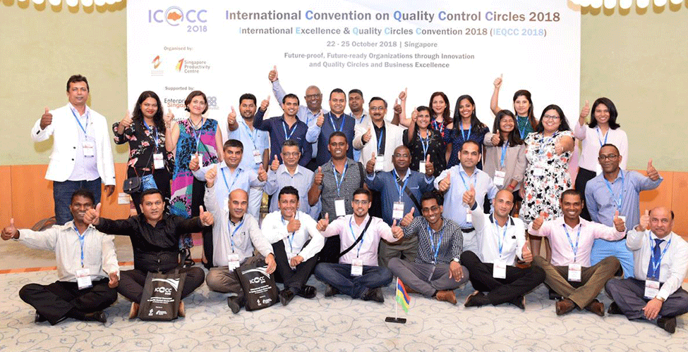 Mauritius becomes the 14th member of the International Convention on Quality Control Circles
