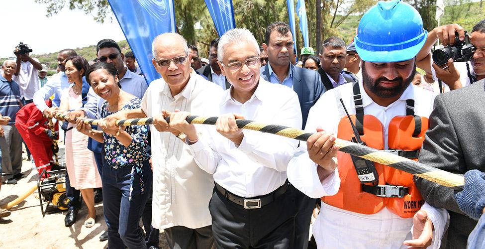 Mauritius Telecom livre le câble MARS avec un an d'avance