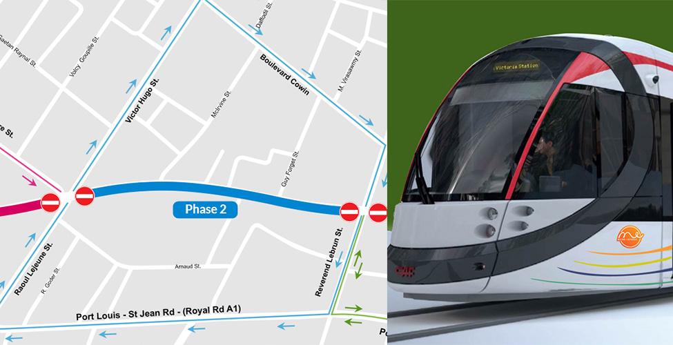 Projet Metro Express : fermeture d'une partie de la rue Vandermeersch à partir du 10 janvier