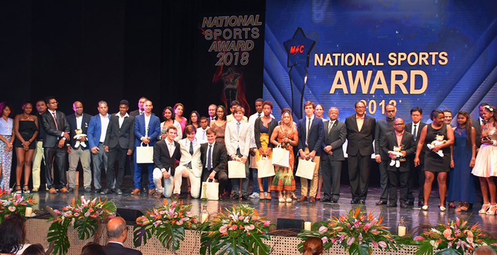 National Sports Award : Julien Paul et Roilya Ranaivosoa couronnés