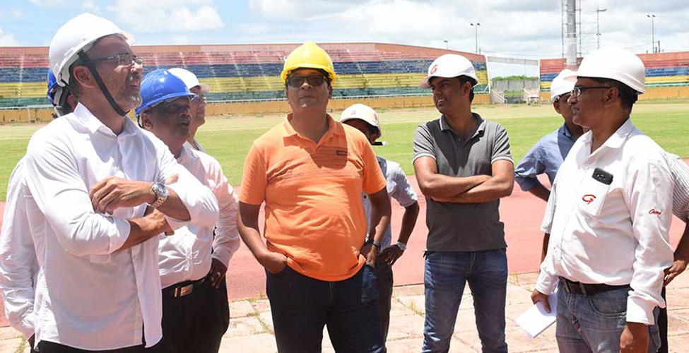 Jeux des îles 2019 : les travaux se déroulent comme prévu, déclare le ministre Toussaint