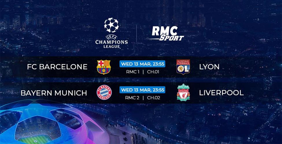 Ligue des Champions : Bayern v/s Liverpool et Barcelone v/s Lyon en direct sur my.t ce mercredi 13 mars