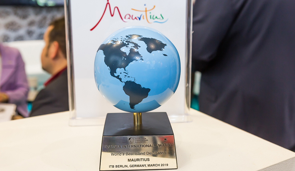 ITB Berlin: Mauritius awarded the 'World's Best Island Destination'