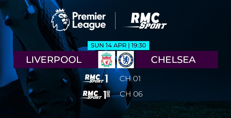 Liverpool v/s Chelsea en live et en 4K sur my.t dimanche 14 avril à 19h30