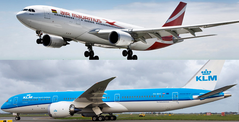 KLM and Air Mauritius will suspend their joint venture operations between Mauritius and Amsterdam as from 27 October 2019