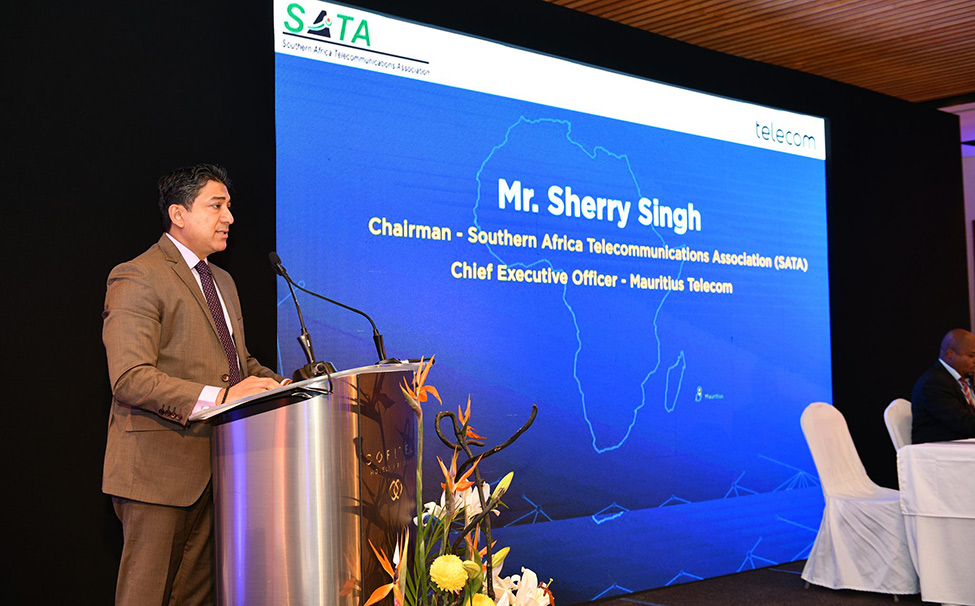 Mr Sherry Singh, CEO of Mauritius Telecom, appointed Chairman of SATA