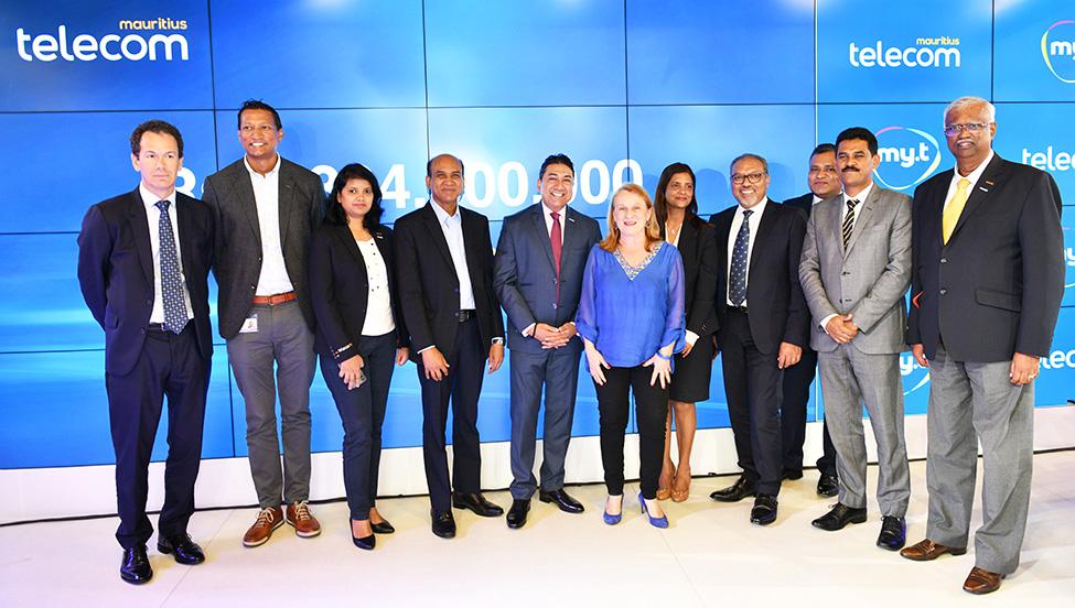 Mauritius Telecom réalise un profit record de Rs 1,304,000,000 depuis 2014, annonce le CEO Sherry Singh