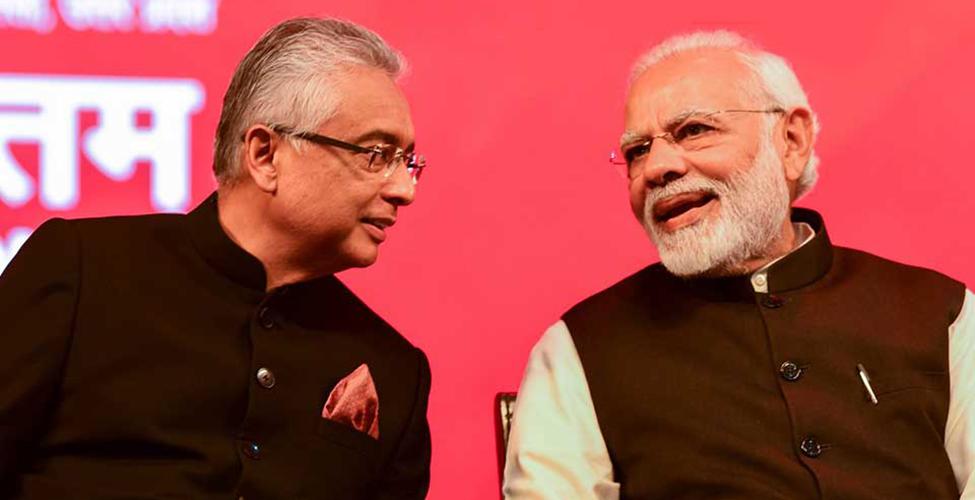 Pravind Jugnauth invité à la cérémonie de prestation de serment de Narendra Modi