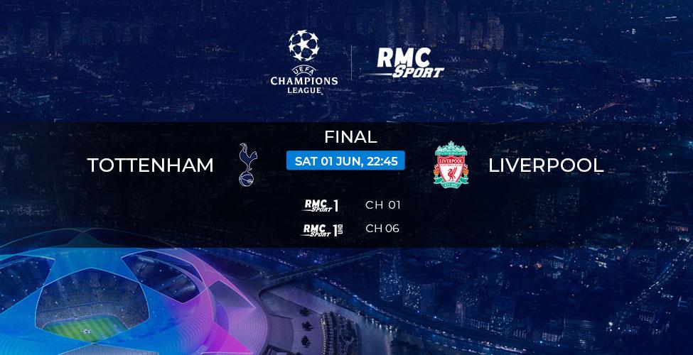 Ligue des Champions : la finale 100% British - Tottenham v/s Liverpool - en live et en 4k sur my.t ce samedi 1er juin