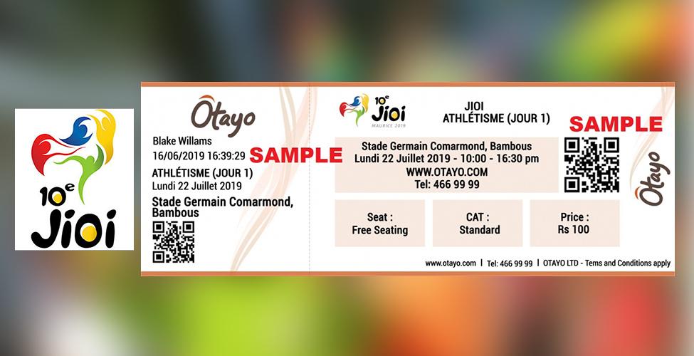 JIOI : les billets déjà en vente à Rs 100