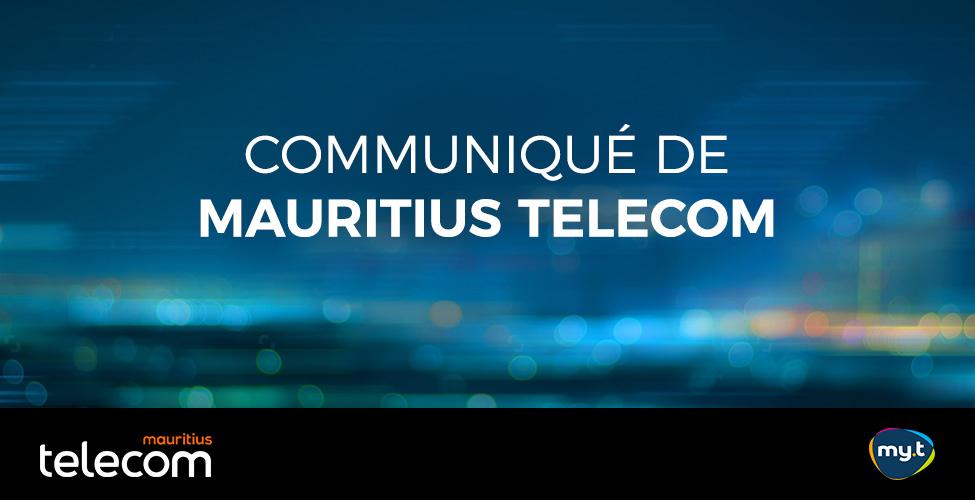 Communiqué de Mauritius Telecom