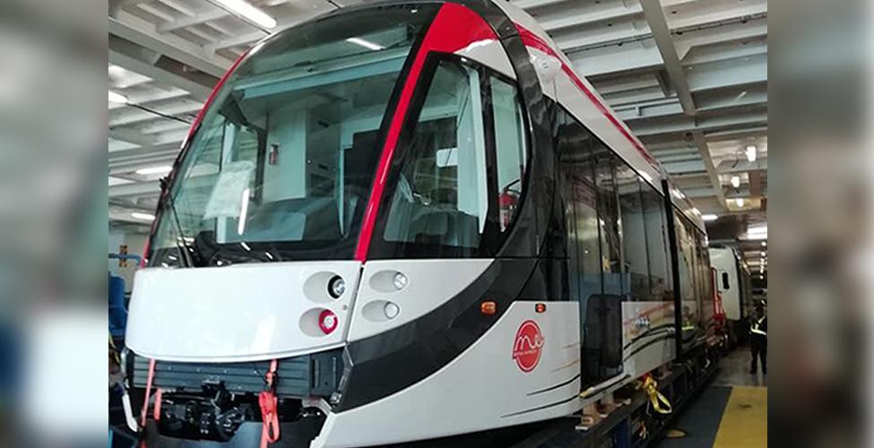 Metro Express : le premier 'Light Rail Vehicle' est arrivé à Maurice jeudi