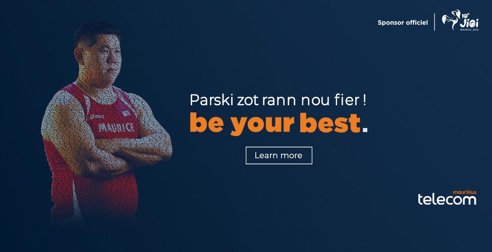 JIOI : Mauritius Telecom, Platinum Sponsor, partage la passion du sport et l'esprit patriotique des Jeux