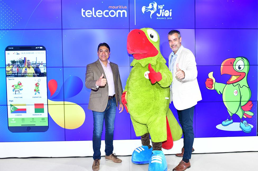 JIOI 2019  : la toute première application des Jeux lancée par Mauritius Telecom
