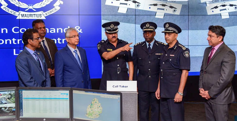 Safe City Project : inauguration du 'Police Main Command and Control Centre'