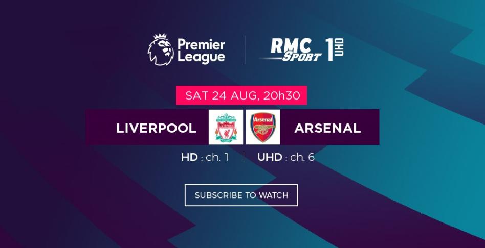 Premier League : Liverpool v/s Arsenal et tous vos matchs préférés en live sur my.t