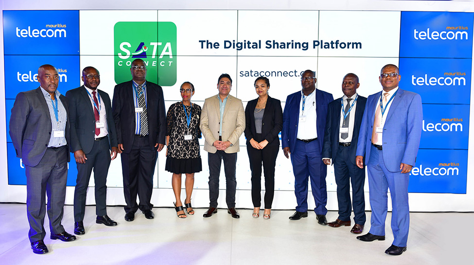 SATA: Mauritius Telecom delivers on its promise and launches SATA Connect, the Digital Sharing Platform