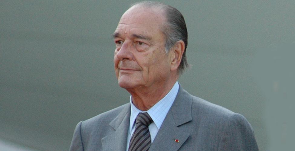 Jacques Chirac, ancien président de la République française, est décédé jeudi