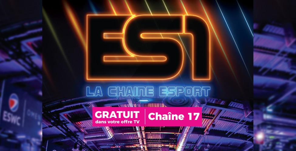 Découvrez ES1, la première chaîne 100% e-Sport, exclusivement sur my.t.