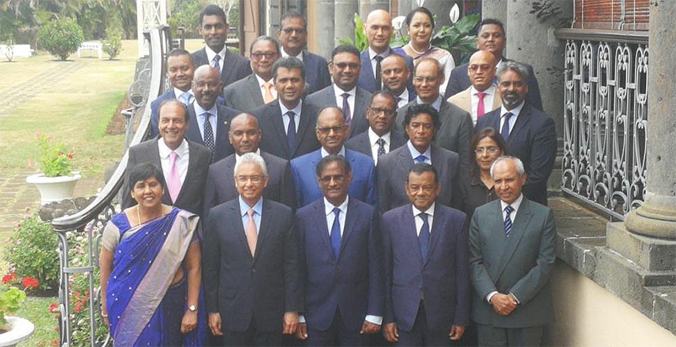 Liste des nouveaux ministres du gouvernement de l'Alliance Morisien