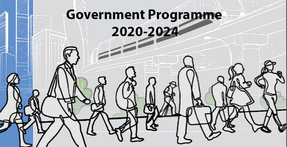 Government Programme 2020-2024: Towards an inclusive, high income and green Mauritius - Forging ahead together