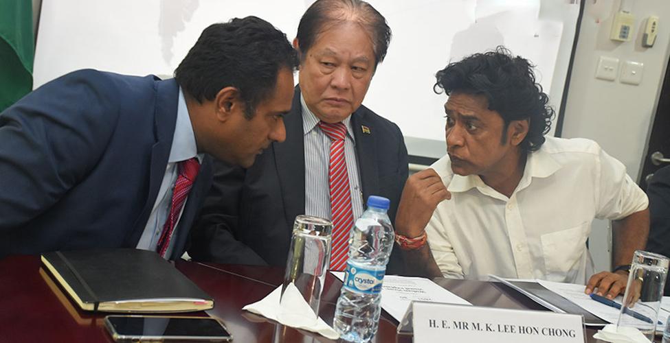 La situation des Mauriciens en Chine suivie de près par le ministère des Affaires étrangères