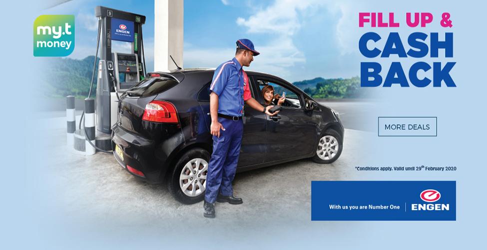 Stations-service Engen : payez avec my.t money et obtenez 1% de Cashback