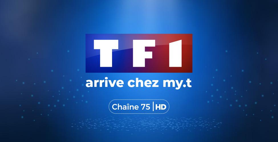 TF1, première chaîne de télévision généraliste française, arrive chez my.t
