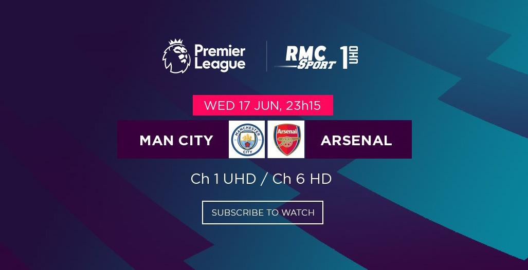 La Premier League est de retour sur my.t ce mercredi 17 juin