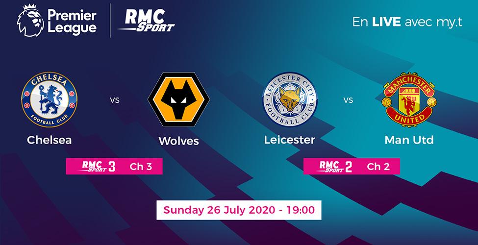 Man United, Chelsea, Leicester : 3 équipes se battent pour 2 places en Ligue des Champions. Une dernière journée intense à suivre en LIVE sur my.t