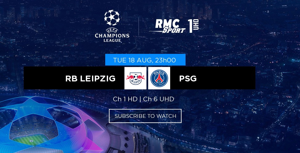 Demi-finale de la Ligue des Champions : RB Leipzig v/s PSG à suivre en LIVE sur my.t ce soir à 23 heures