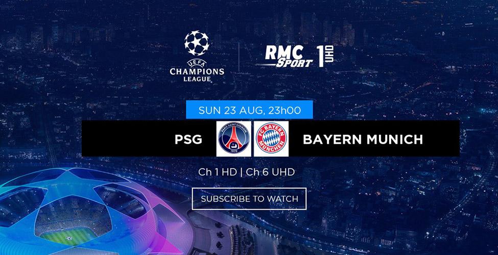Champions League : PSG v/s Bayern Munich, une finale de rêve à vivre en LIVE sur my.t dimanche soir à 23 h