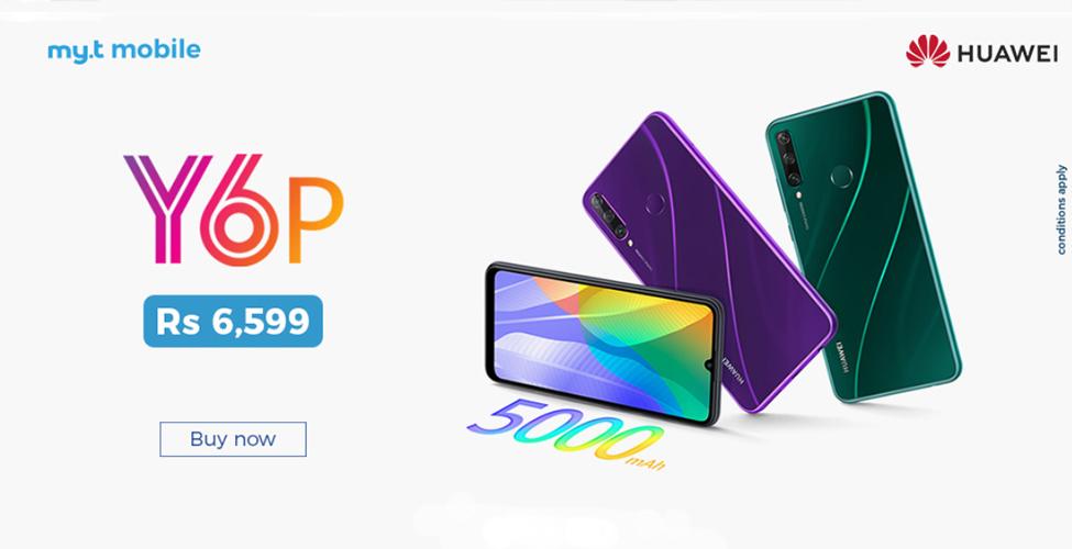 Le Huawei Y6P, un smartphone accessible à tous, disponible sur shop.myt.mu