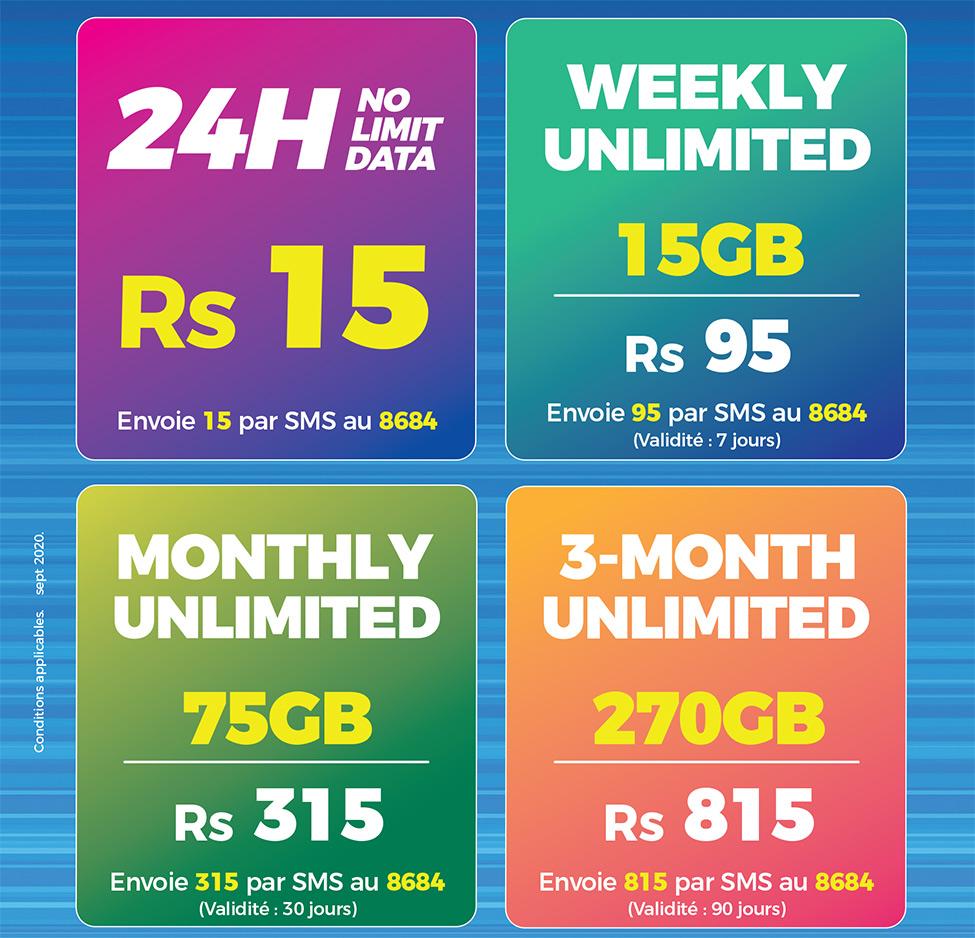 Mauritius Telecom lance des offres mobile illimitées exceptionnelles